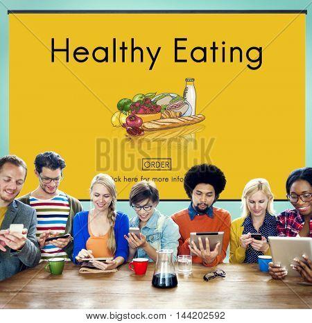 Healthy Eating Food Fresh Natural Organic Concept