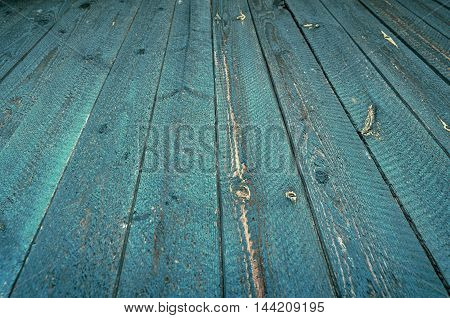 Wooden background.Texture of perspective Old wood floor. Soft selective focus and shallow depth of field