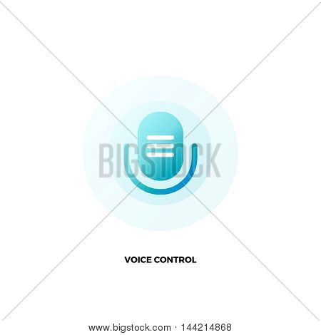 Microphone vector logo. Voice assistant logo. Voice command logo. Karaoke logo. Microphone app icon. Retro microphone. Vector microphone icon. Voice command app. Voice control. Voice control app