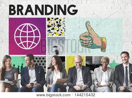 Branding Advertising Copyright Marketing Concept
