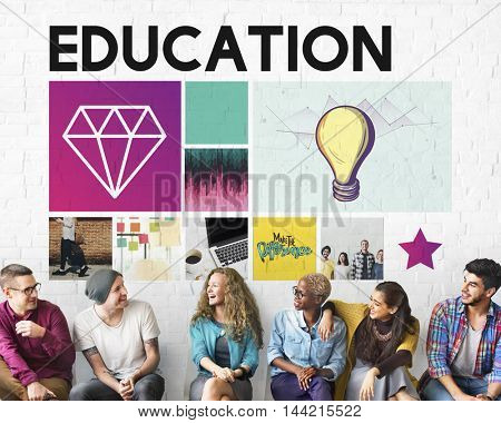 Education LIght Bulb Ideas Knowledge School Concept