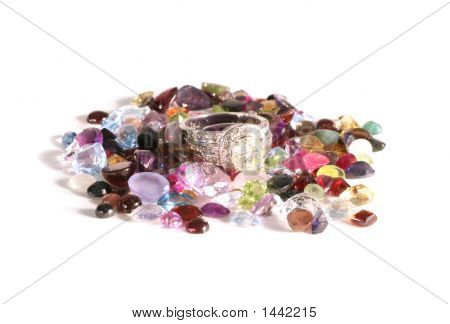 Various Gemstone Semi-Prescious Stones