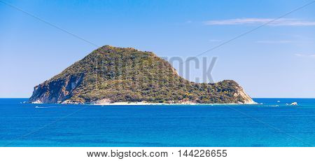Marathonisi Islet Near Island Zakynthos, Greece