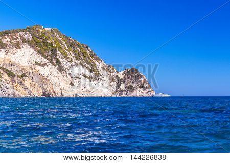 Marathonisi Islet Near Greek Island Zakynthos