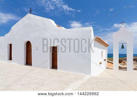 Agios Nikolaos. White Orthodox Church