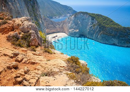 Navagio Shipwreck Beach, Island Zakynthos