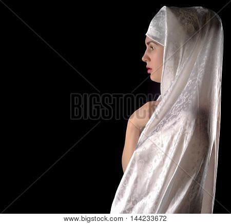 The Girl In A Hijab, A Muslim Woman, Girlfriend