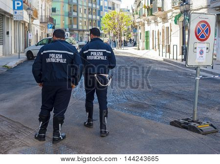 two officers