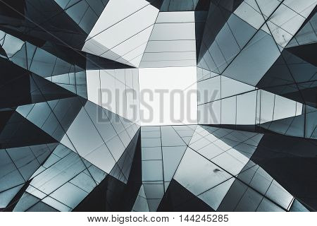 Abstract Contemporary Architecture Detail