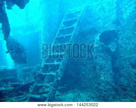 The Thistlegorm wreck in Red Sea sank in 1942