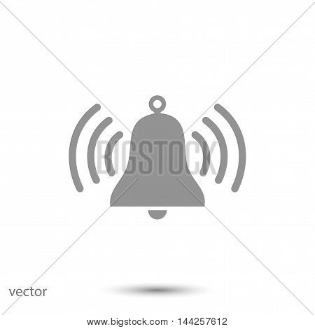 bell vector icon, vector best flat icon, EPS