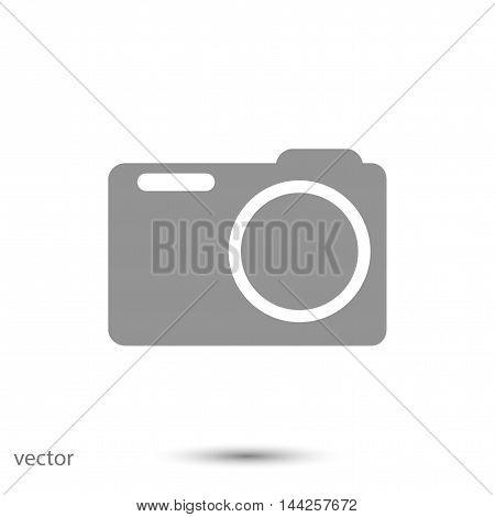 camera vector icon, vector best flat icon, EPS