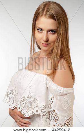 Woman Blond Model