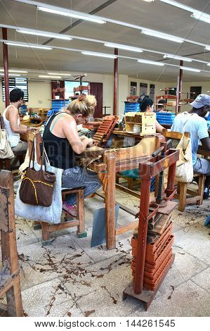Camajuani Cigar Factory