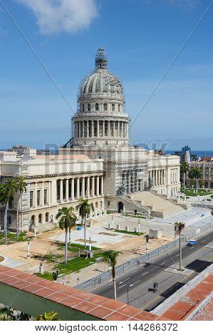Capitol Building Havana Cuba
