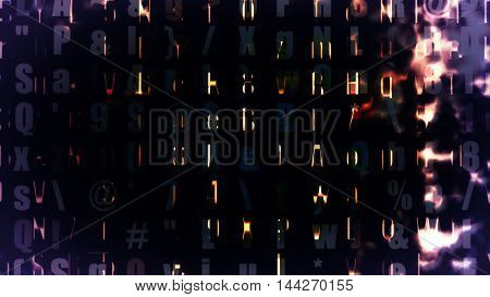 Futuristic digital technology screen display High resolution illustration .