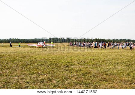 Celebration Of Day Of Air Fleet In Kirov City In 2016