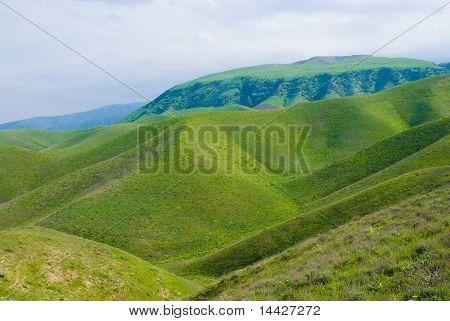 Mountains in Turkmenistan