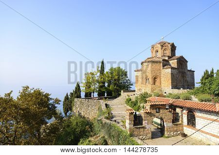 Church of St. John at Kaneo Ohrid Macedonia