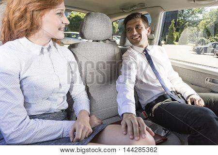 Flirt On A Back Seat