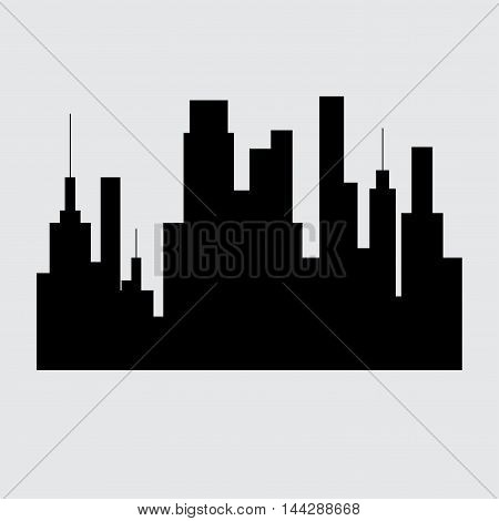 Middle East cities vector set. city icon on background, city illustration.
