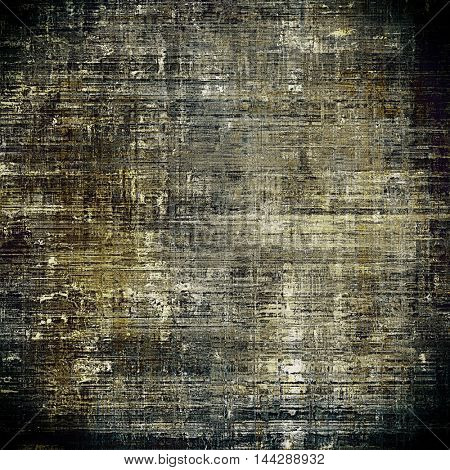 Vintage decorative texture with grunge design elements and different color patterns: gray; yellow (beige); brown; white; black