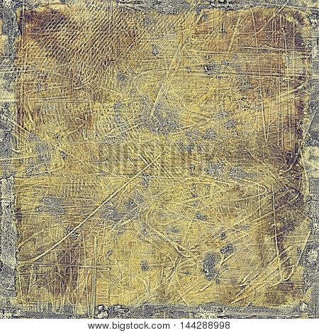 Vintage design background - Grungy style ancient texture with different color patterns: gray; purple (violet); yellow (beige); brown; black