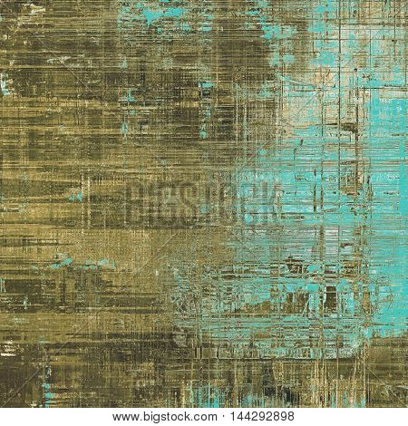 Beautiful retro background, nice looking ancient texture with different color patterns: gray; blue; yellow (beige); brown; cyan