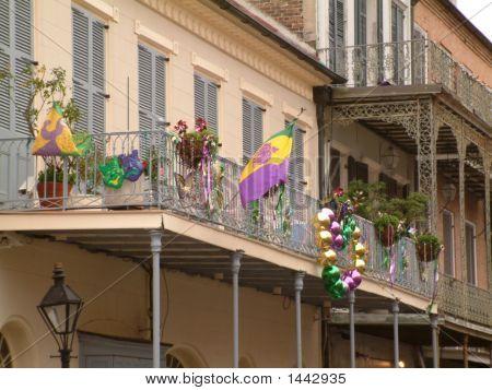 Mardi Gras Balkon