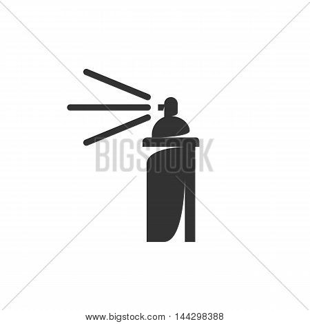 Vector Spray icon isolated on a white background. Spray logo in flat style. Simple icon as element for design. Vector symbol, sign, pictogram, illustration