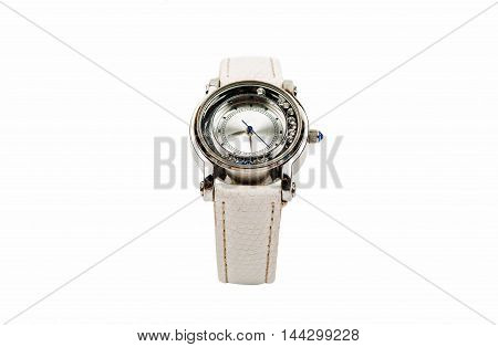 women's watch fashion isolated on white background