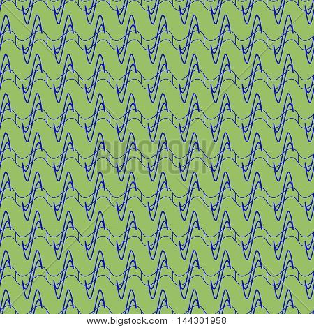 Wavy line abstract seamless pattern. Fashion graphic background design. Modern stylish abstract texture. Colorful template for prints textiles wrapping wallpaper website etc. VECTOR illustration