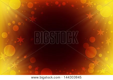 Christmas background. Festive abstract background with bokeh defocused lights and stars Abstract background with rays of light . Fairy tale. Magic. Focus. Wedding. . Celebration.