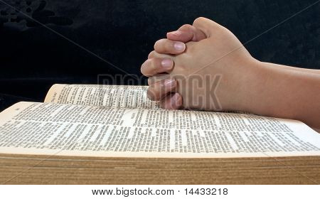 Child's Hands Praying