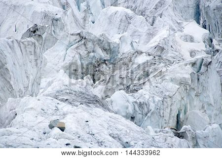 Glacier background -abstract image
