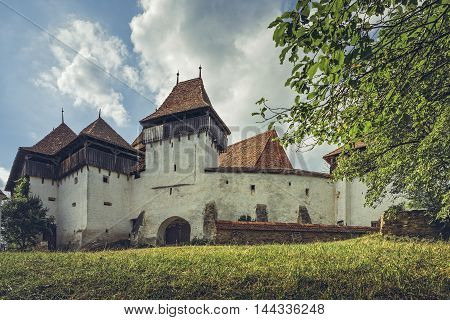 Fortified Church In Viscri, Romania