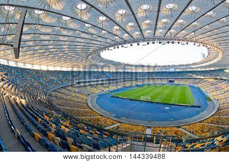 Nsc Olympic Stadium In Kyiv, Ukraine