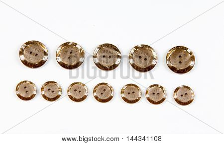 Buttons. Clasp garment loops, usually in form of a circle.. Photography Studio