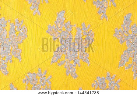 Lace On The Fabric. Tissue, Textile, Cloth, Fabric, Material, Te
