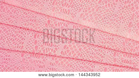 The Texture Of The Silk Fabric, Soft Pink