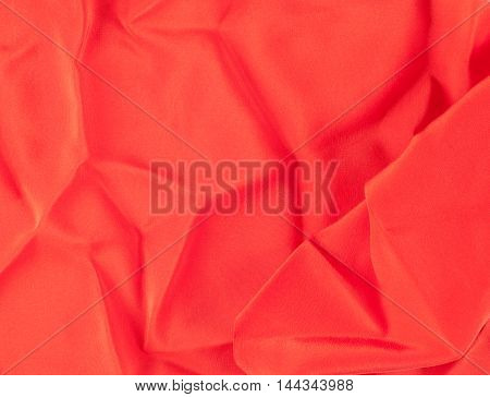 Red Silk Fabric Tecture