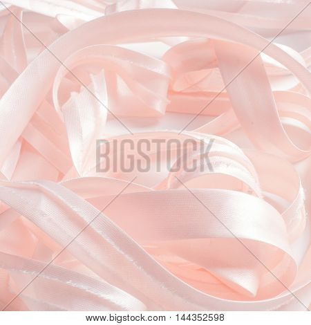 Texture, background. Colored ribbons. Abstract illustration. a long, narrow strip of fabric, used especially for tying something or for decoration.
