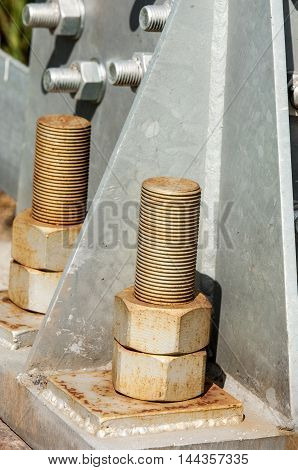 Texture Bolts Nuts