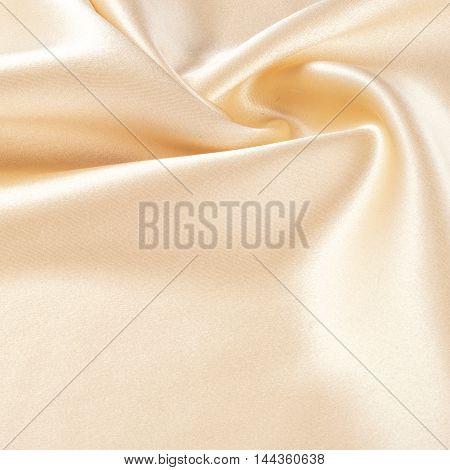 fabric silk texture transparent beige photo made in studio