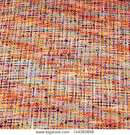 Fabric texture weave a large thread Abstract drawing. photo studio