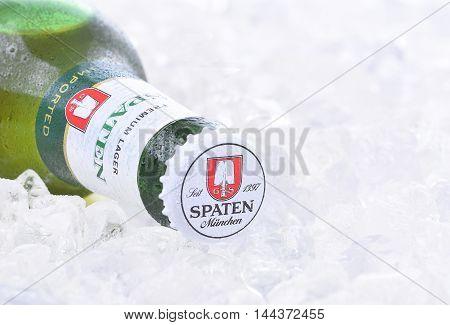 Spaten Lager On Ice