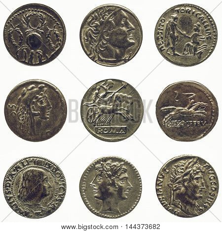 Vintage Roman Coin