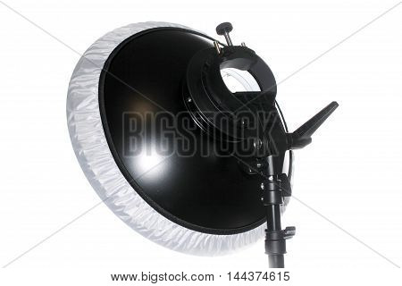 professional softbox with holder for portrait photography