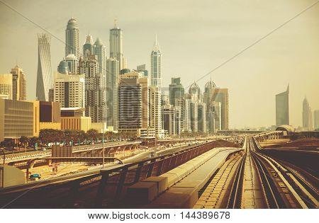 Dubai Metro as world's longest fully automated metro network