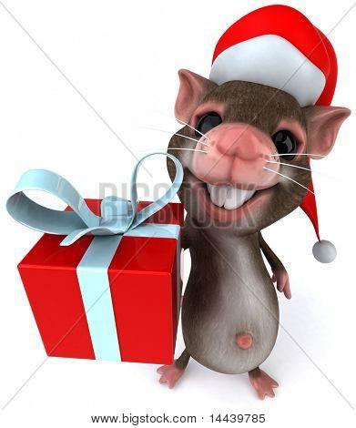 Ratón de Santa